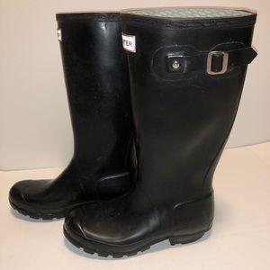Ladies size 5 US Hunter boots